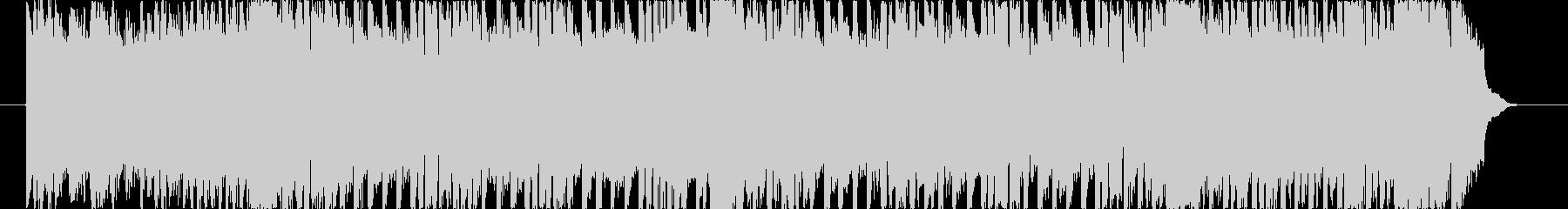 テクノポップマーチ・バラエティ番組BGMの未再生の波形