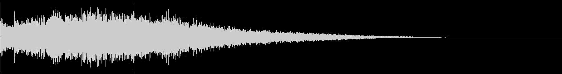 シャリシャリ:謎の金属音系の衝撃音の未再生の波形