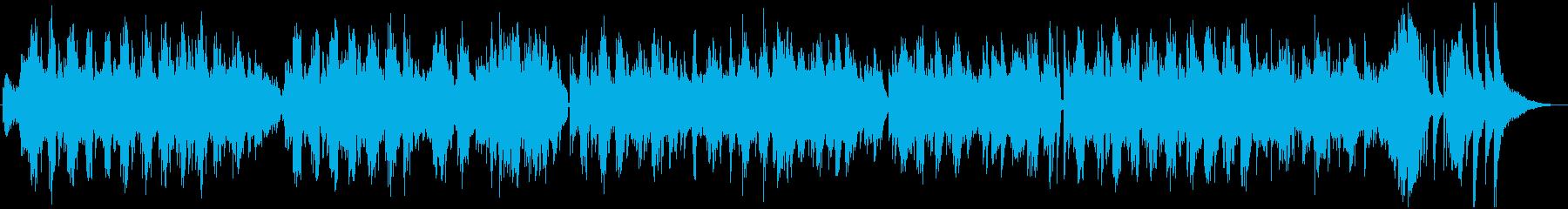 ニューエイジとクラシックのスタイル...の再生済みの波形