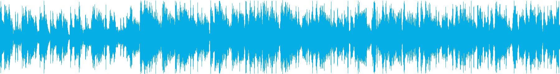 スマートな大人ジャズトラックの再生済みの波形
