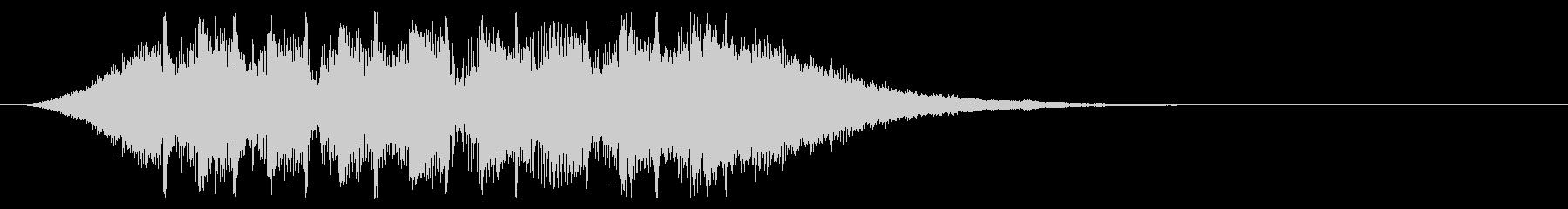 スタイリッシュなEDMジングル #2の未再生の波形