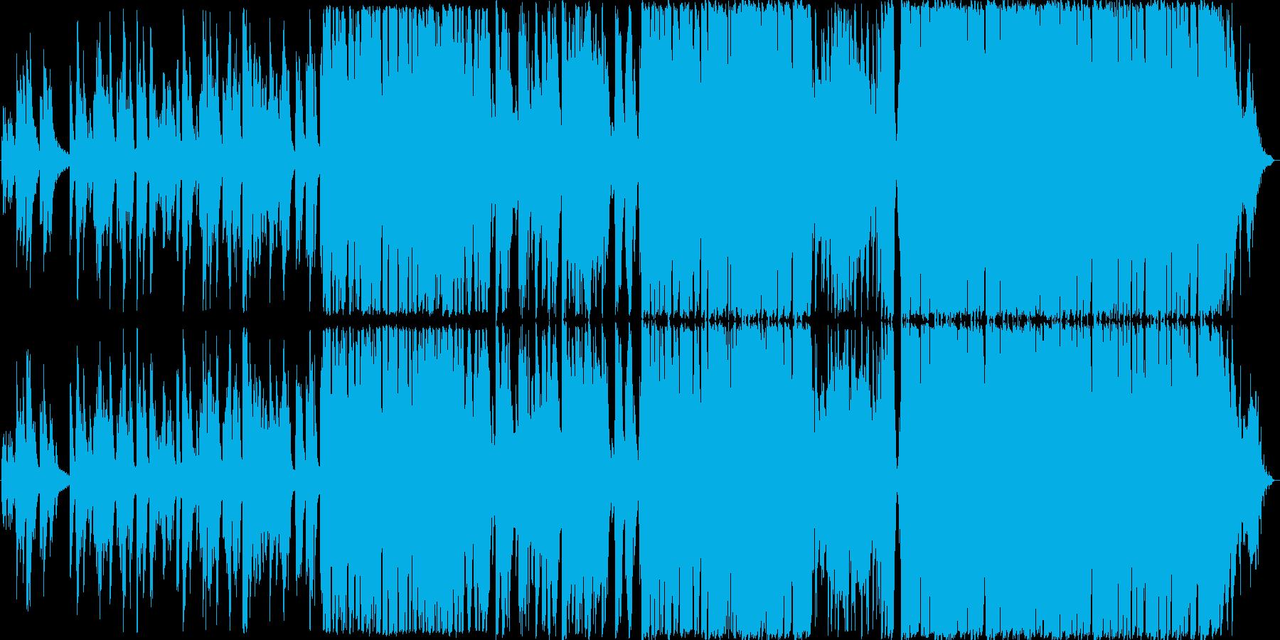 ウェディングソングにぴったりなバラードの再生済みの波形