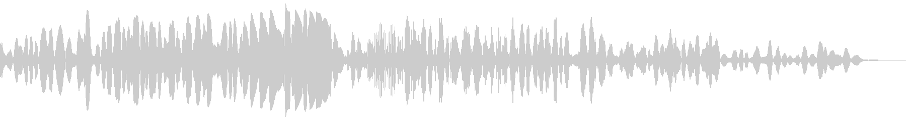 スタティックランブルスラムウーッシュ2の未再生の波形