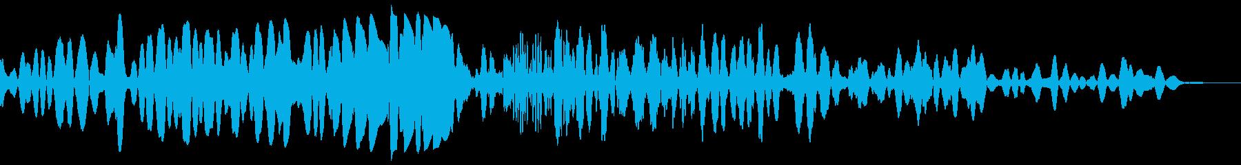 スタティックランブルスラムウーッシュ2の再生済みの波形