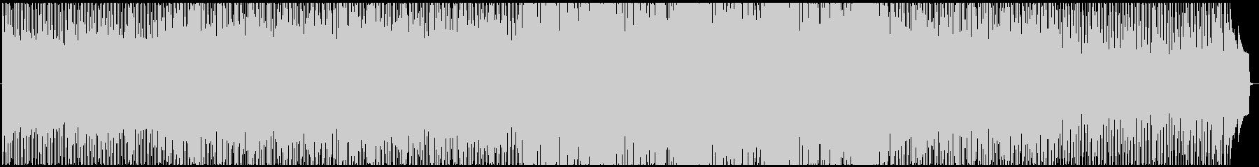 少し切ないメロディーが印象的なBGMの未再生の波形