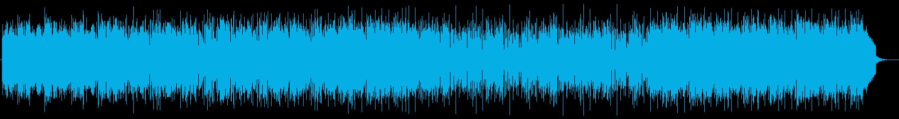 ストリングスによるバラードの再生済みの波形