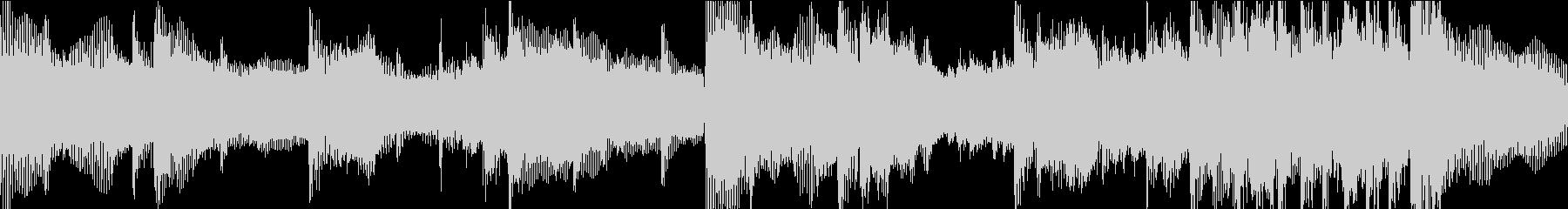 前向きなメロディのポップロックの未再生の波形