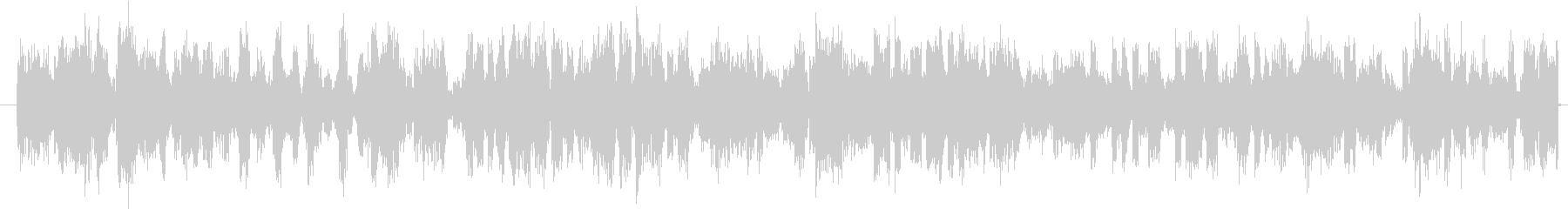 電撃のビリビリ音の未再生の波形