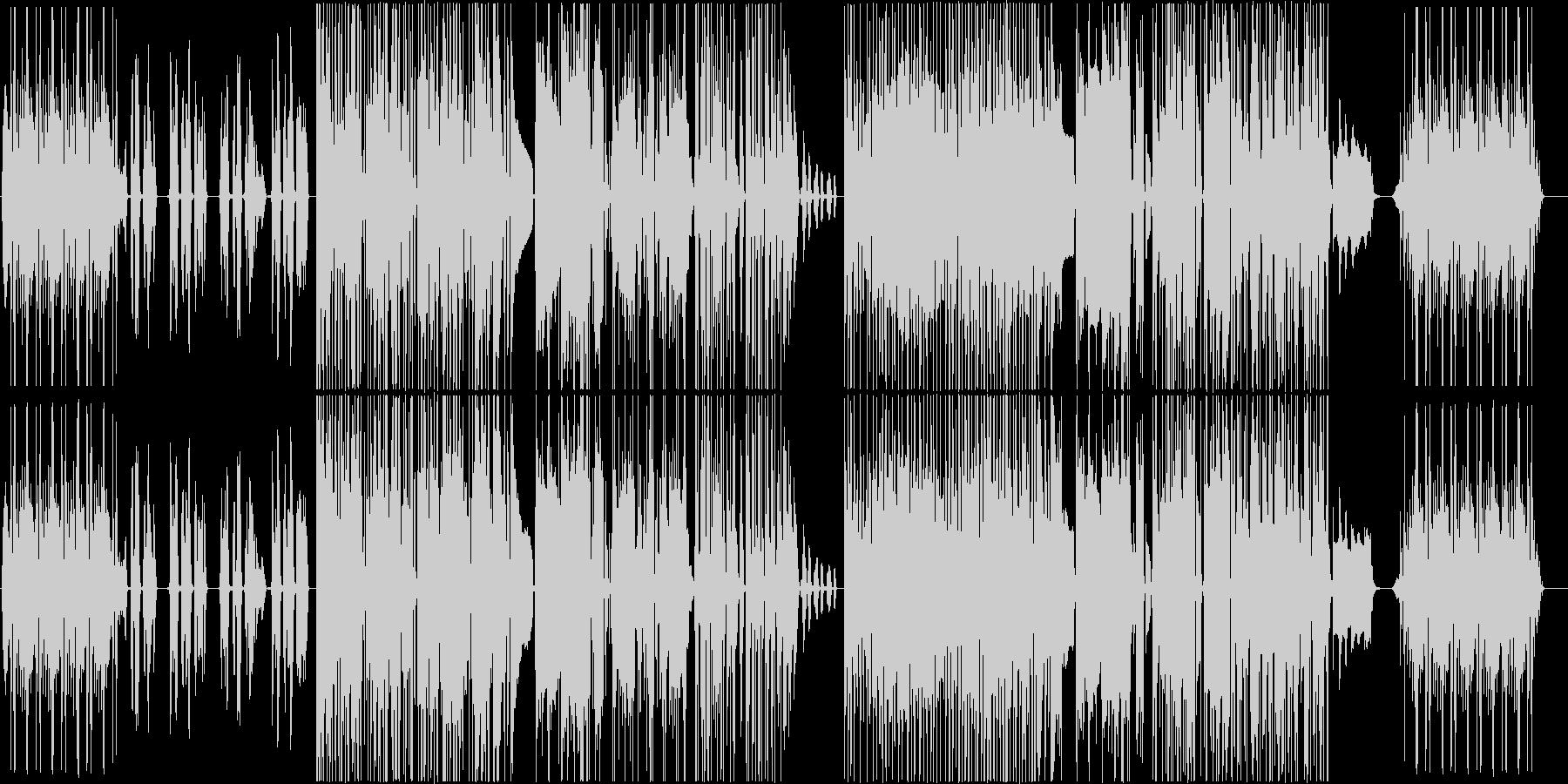 Rock'n Riverの未再生の波形