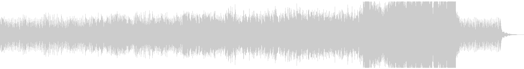 感動系オーケストラBGMの未再生の波形