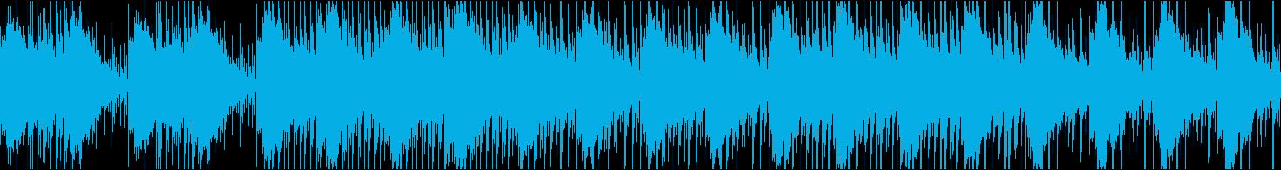 ゲーム・エンディング・希望のある曲の再生済みの波形