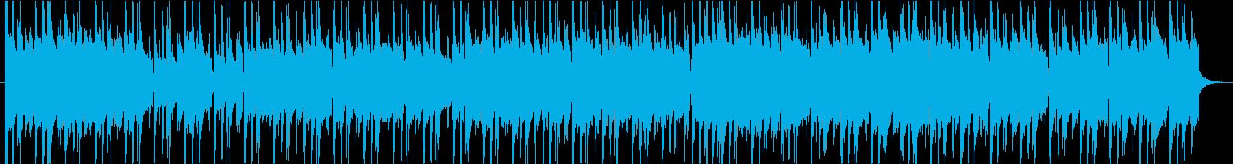 夜に合う大人のジャジーなピアノジングルの再生済みの波形