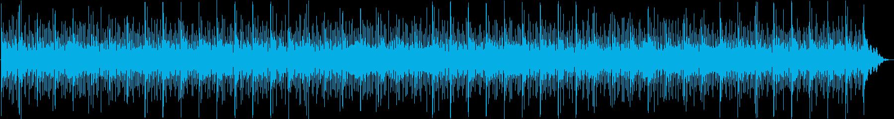 シンセサイザーパッド全体が低速のシ...の再生済みの波形