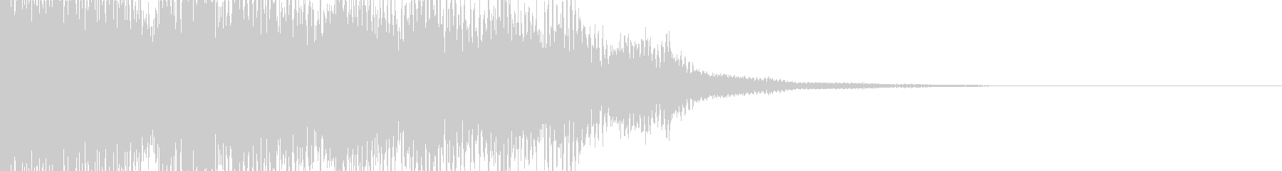 Kawaii 可愛い 効果音 4の未再生の波形