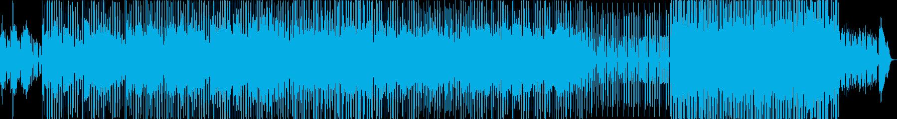 不穏な空気の中、鳴り響く無数のベルの再生済みの波形