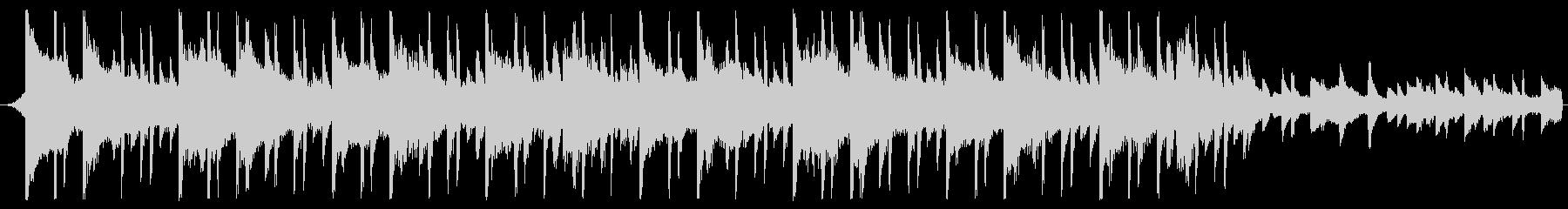30秒企業BGMなどに明るくシンプルな曲の未再生の波形