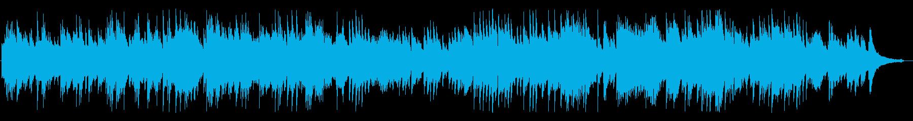 優しく爽やかな風のようなピアノBGMの再生済みの波形