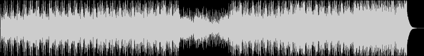 力強い和太鼓と和楽器のBGMの未再生の波形