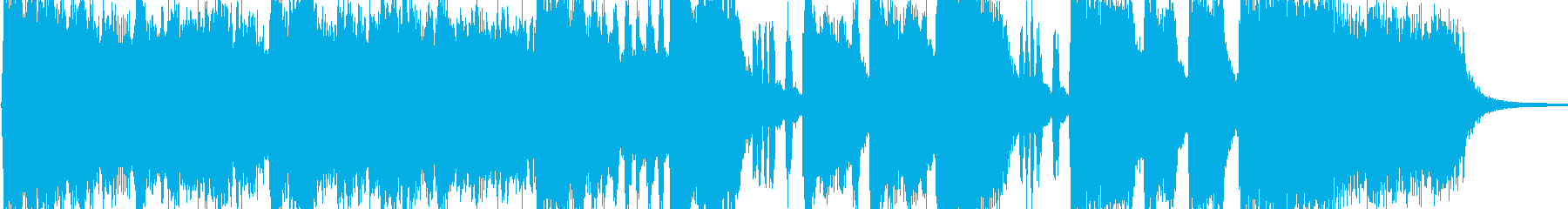 開会式を想定した華やかなファンファーレ…の再生済みの波形