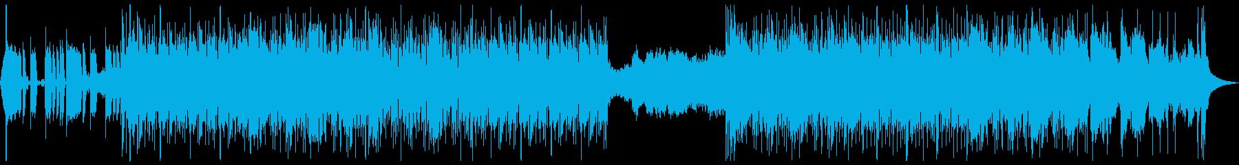 サイケ_ユルめのインスト_バンド的の再生済みの波形