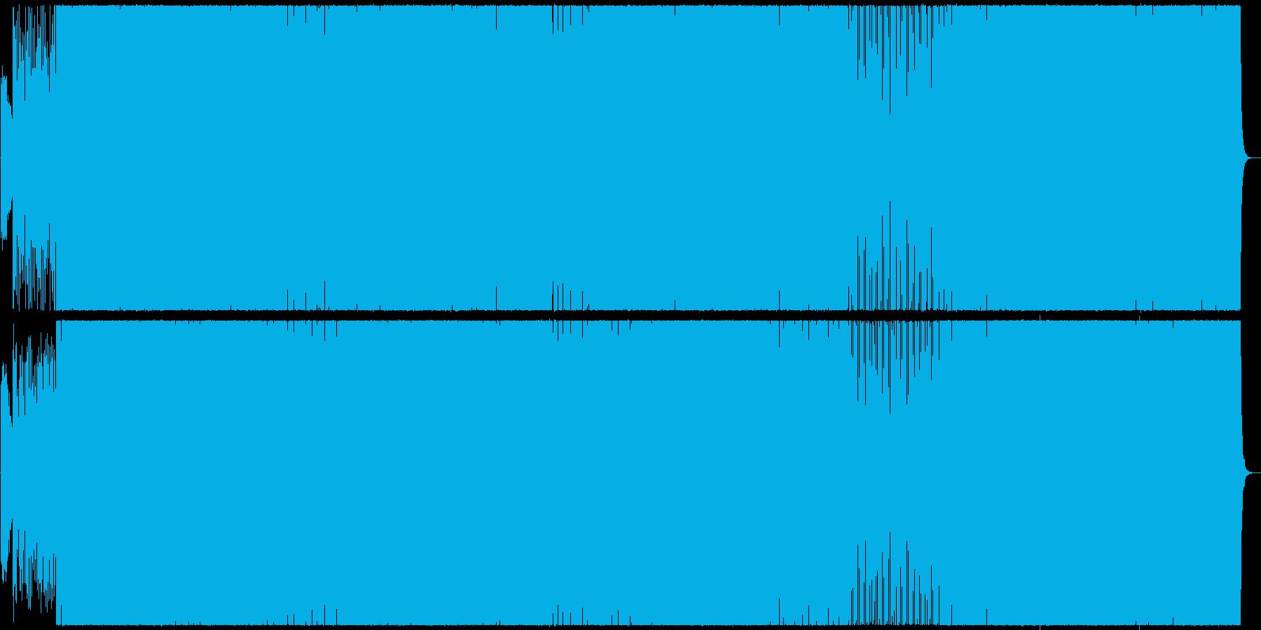 中国風なイメージのキャッチーなラップ曲の再生済みの波形