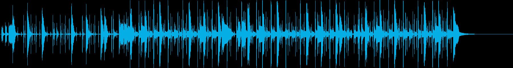ファンキーなクラビネット の再生済みの波形