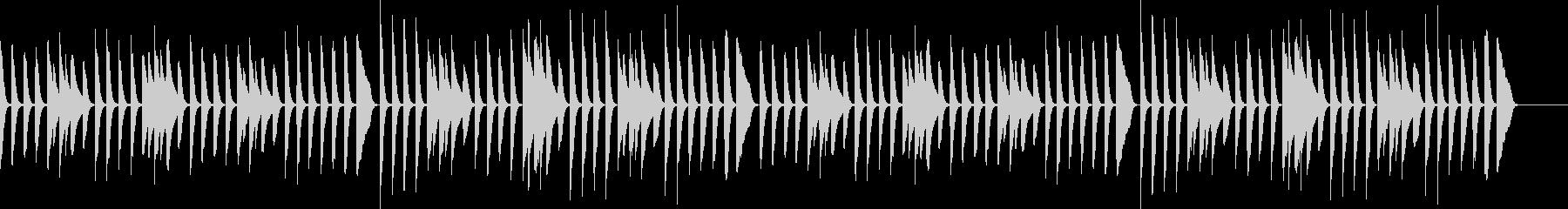 Children Pianoの未再生の波形