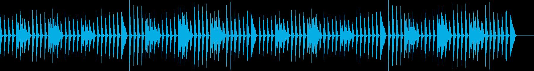 Children Pianoの再生済みの波形