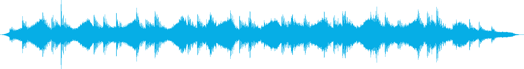 懐かしさと不安を回想するBGMの再生済みの波形