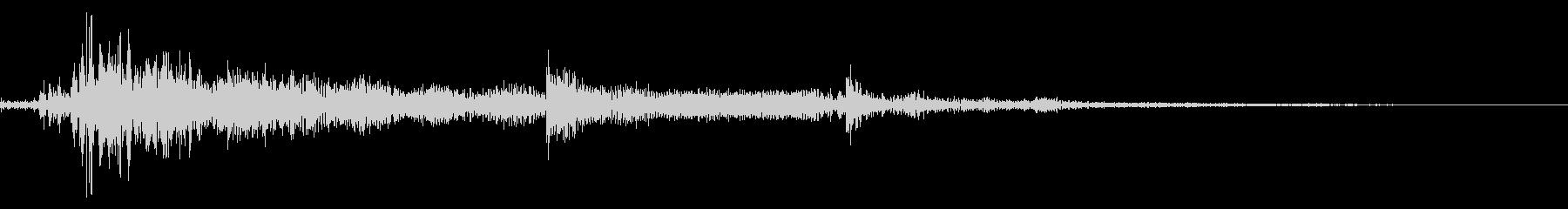 カギが落ちた音mの未再生の波形