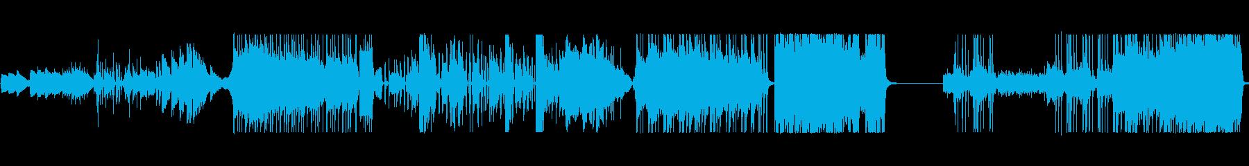 線香花火の再生済みの波形