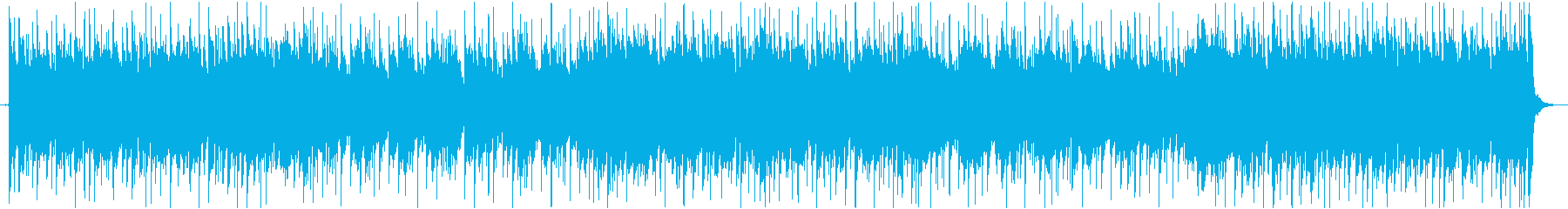 日常で使用できそうなギターメイン音楽の再生済みの波形