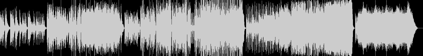 ピアノと弦楽器の為の古風な小品集の未再生の波形