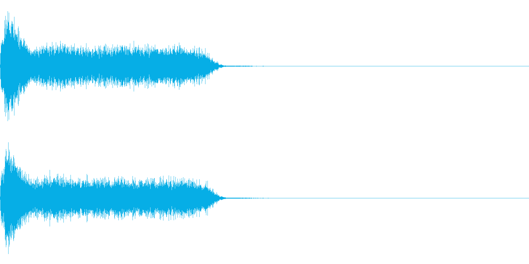 ビリビリ!電撃・感電の音!4ミドルの再生済みの波形