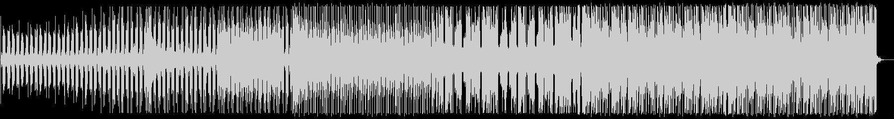 爽やかなトロピカルハウス_No586_3の未再生の波形