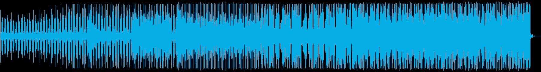 爽やかなトロピカルハウス_No586_3の再生済みの波形