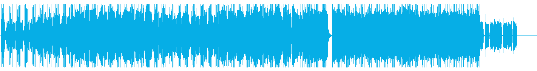 生演奏パワーポップ感のあるギターインストの再生済みの波形