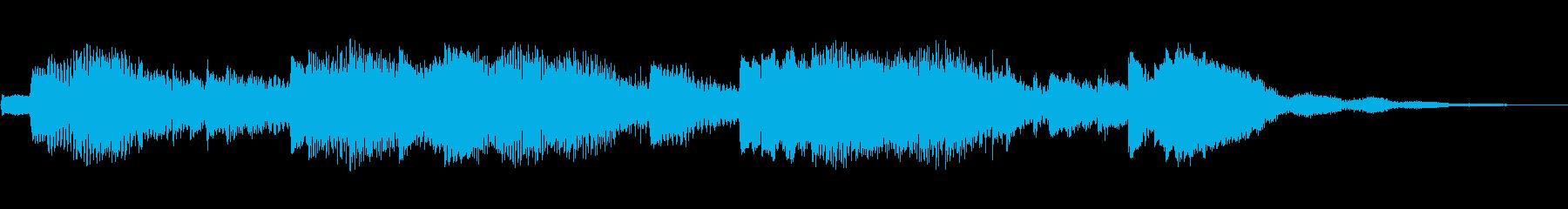 ハープ:静かなアクセント、漫画コメ...の再生済みの波形