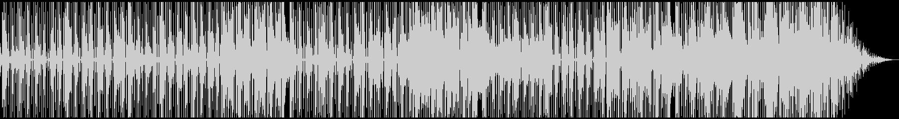 アルトサックスのダークで都会的なファンクの未再生の波形