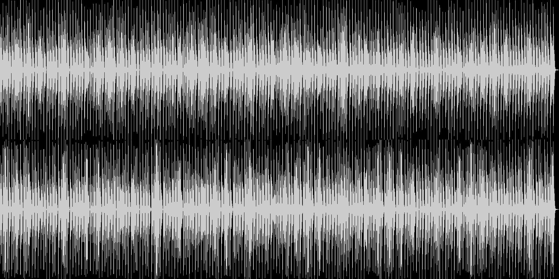 シンプルでメロディーのあるポジティ...の未再生の波形
