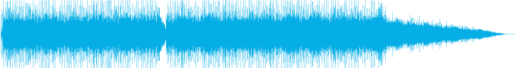 爽やかなアコギの音が印象的なポップスの再生済みの波形