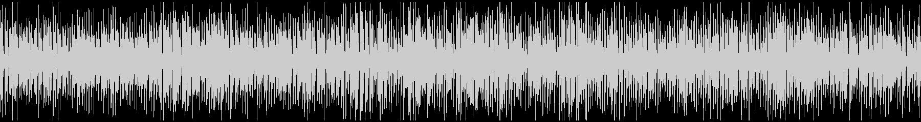 楽しいウキウキ系のレトロジャズ※ループ版の未再生の波形