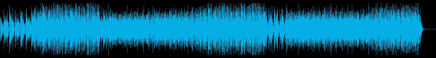 ノリノリ明るいピアノポップの再生済みの波形