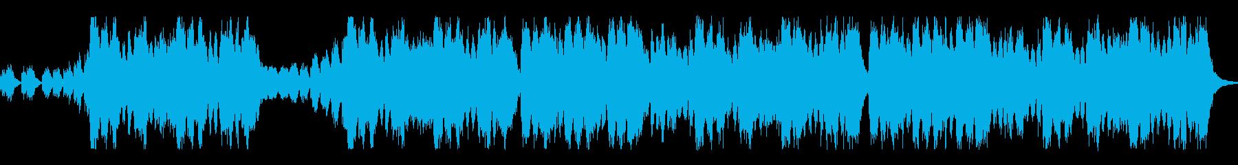 メンデルスゾーンの結婚行進曲の再生済みの波形