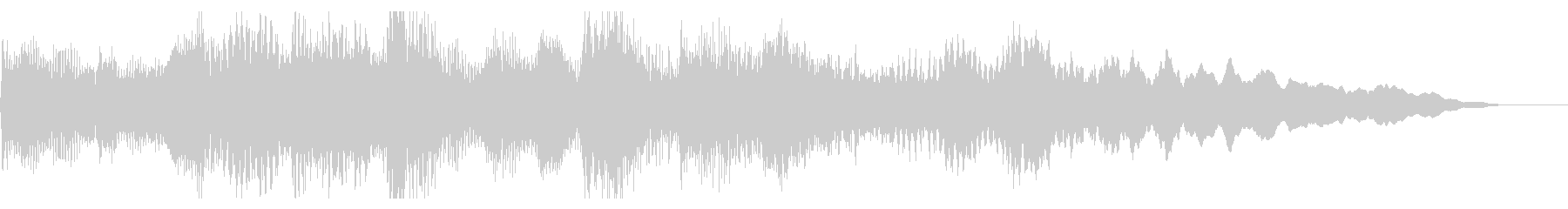 日本的なしっとりしたピアノジングルの未再生の波形