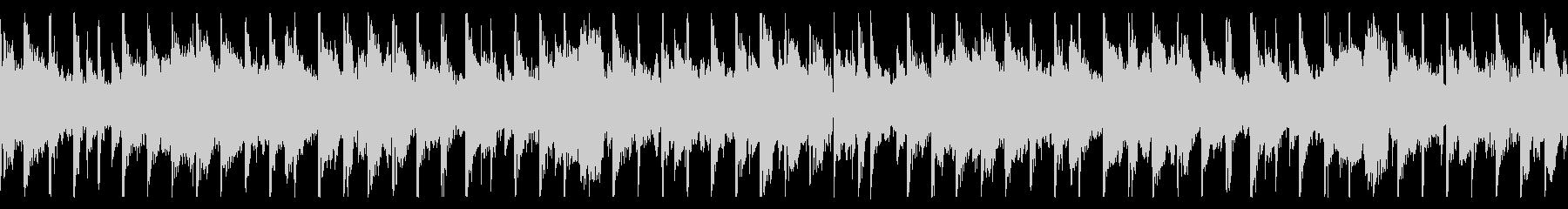 ローファイなチルBGMの未再生の波形