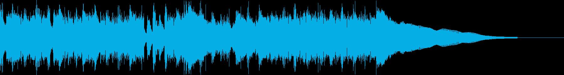 カントリー風ギターイントロ−07Dの再生済みの波形