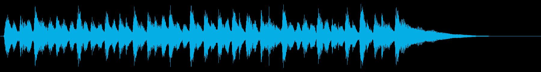 15秒CM、アコギリズム、商品紹介等③の再生済みの波形