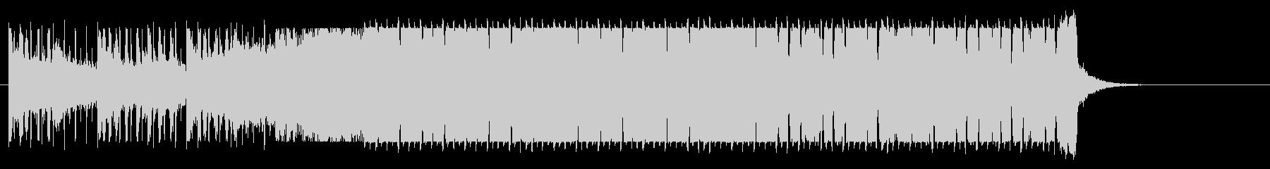 ピコピコした音が特徴的なドラムンベースの未再生の波形
