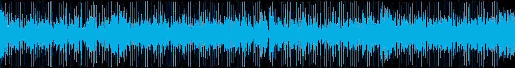 リラックススムースジャズの再生済みの波形